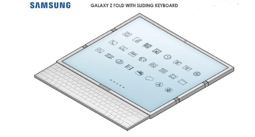 Teclado Samsung Galaxy Z Fold 3