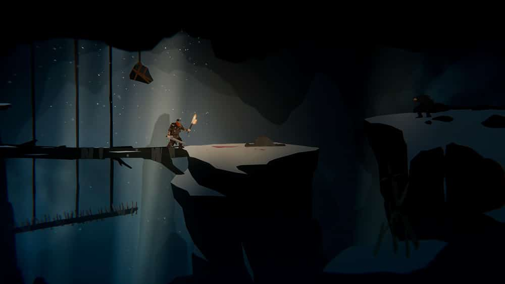 tela do jogo de plataforma Unto the End