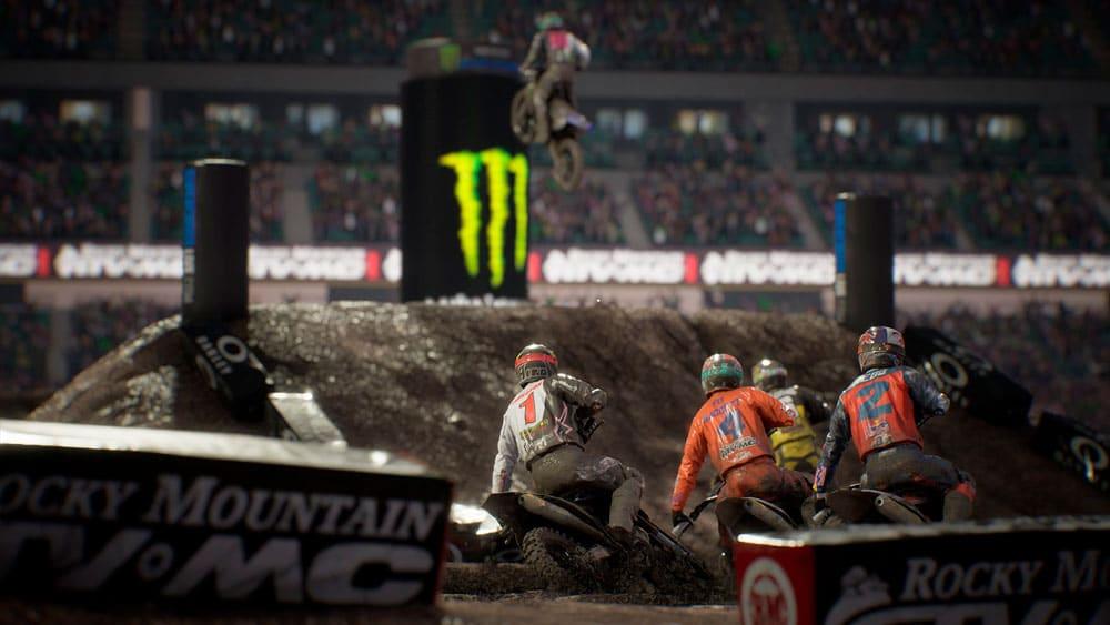 As acrobacias de Monster Energy Supercross 4 também figuram entre os novos jogos do Stadia