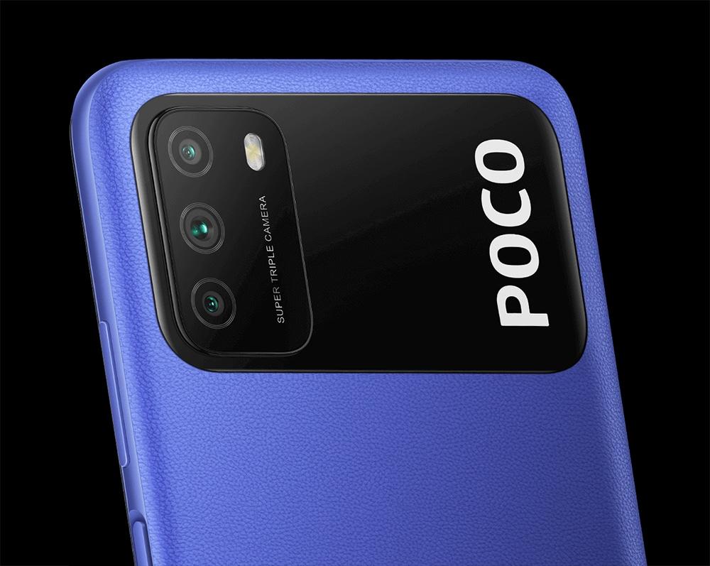 Poco M3 lançado com câmera tripla (Foto: Poco)