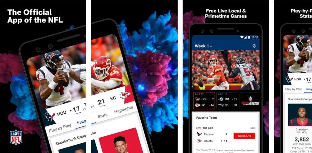 Apaixonados pela bola laranja podem baixar o app oficial da NFL para ficar por dentro do futebol americano