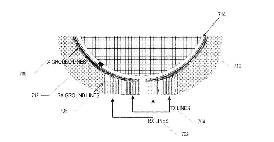 ilustração existente na patente da antena