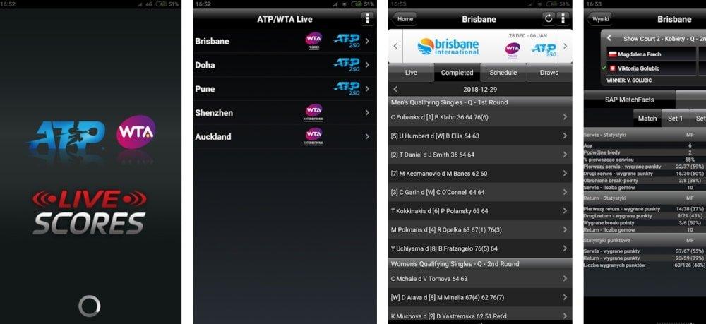 App da ATP deixa o usuário por dentro de absolutamente tudo no mundo do tênis