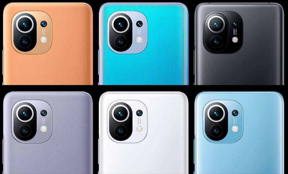 Mi 11 lançado com seis opções de cores