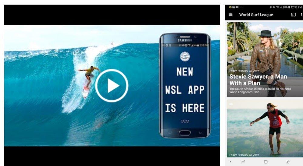 World Surf League fecha a lista dos melhores apps para acompanhar esportes no celular