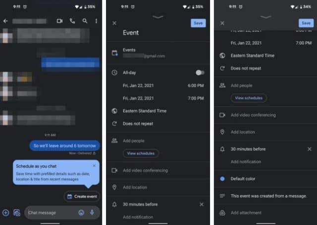 Atualização do Google Messages