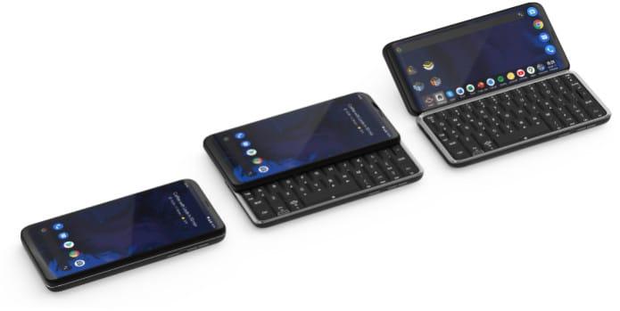 Astro Slide 5G é o primeiro aparelho 5G do mundo com um teclado QWERTY completo