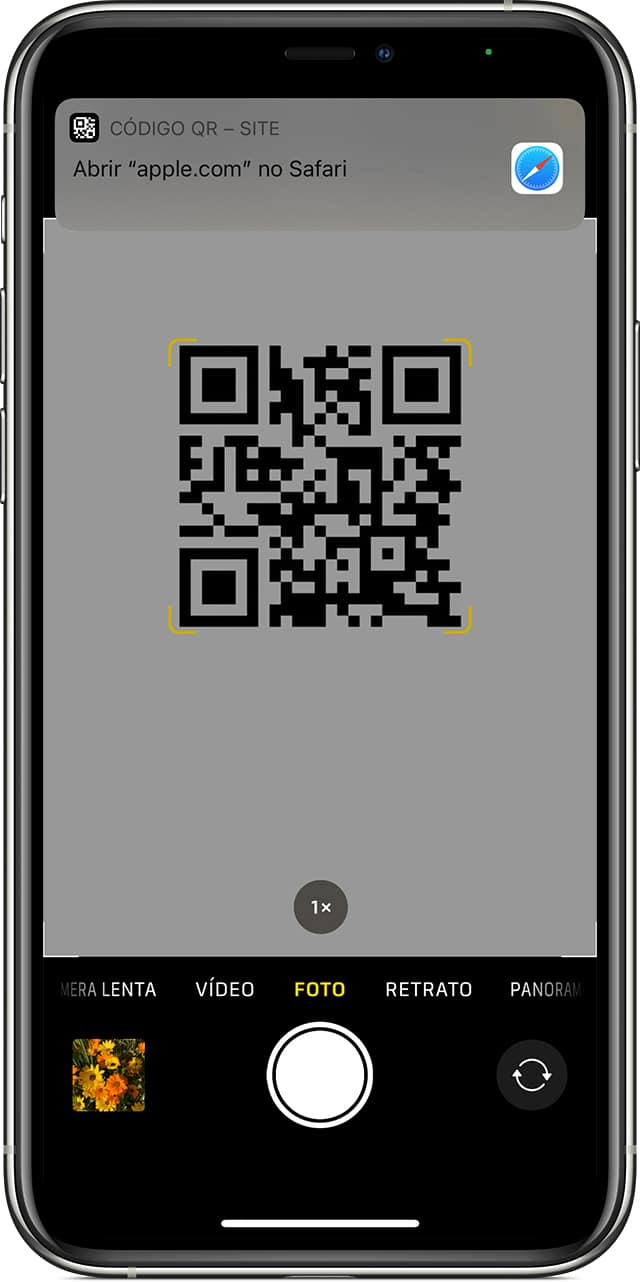 ios14-iphone11-pro-camera-scan-qr-code divulgacao Apple