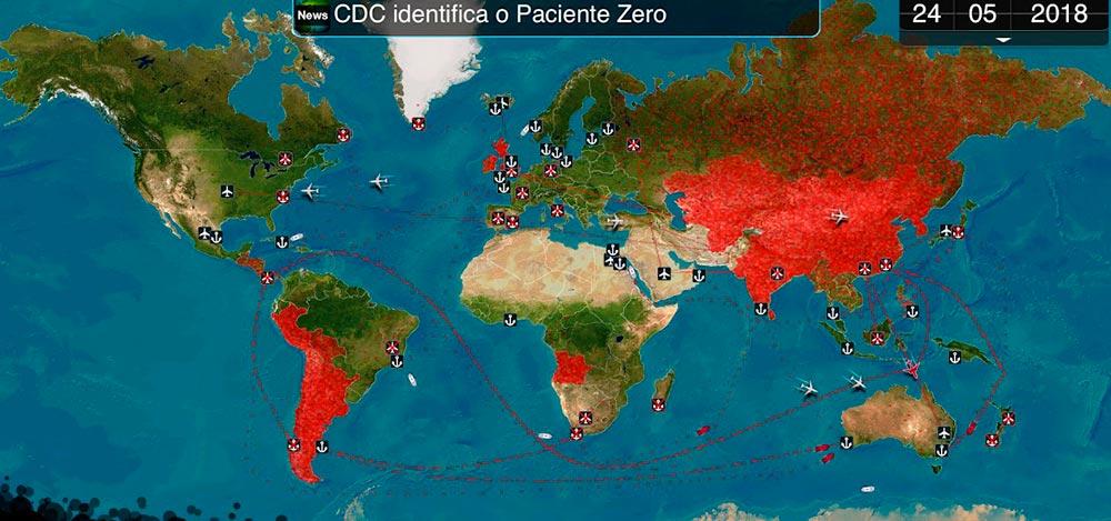 plague inc. é um dos melhores jogos de simulação para Android