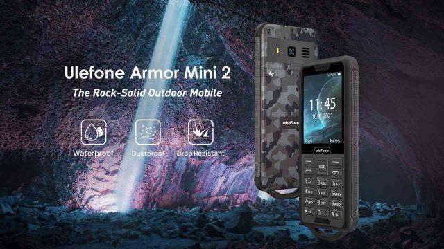 Ulefone lança celular super-resistente Armor Mini 2