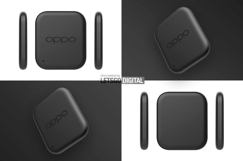 O design das smart tags da Oppo conforme imaginadas pelo site Let's Go Digital