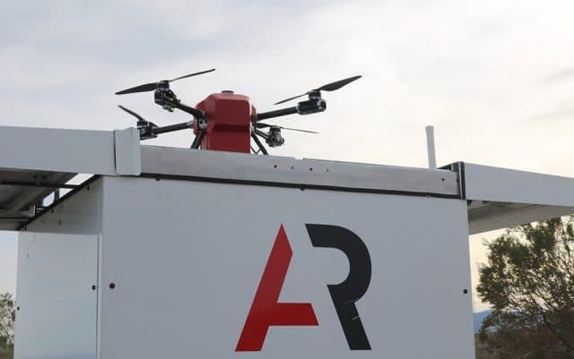 Drone Scout na base