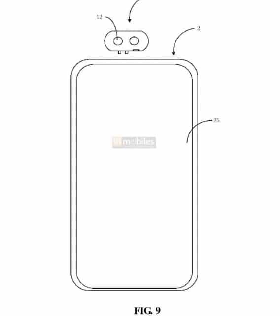 Projeto de Xiaomi com câmera destacável