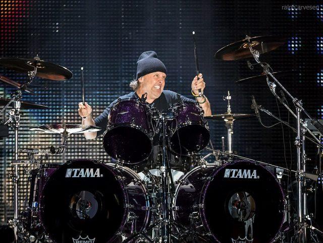 Lars Ulrich, baterista e líder da banda Metallica foi um dos artistas que encabeçaram a cruzada contra o Napster no início dos anos 2000. Foto: Ralph Arvesen/Wiki Commons