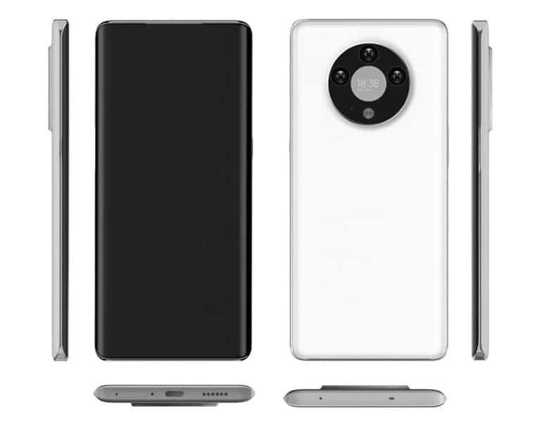 Smartphone da Oppo com uma tela secundária na traseira é exibido em imagens anexadas na patente concedida pela China