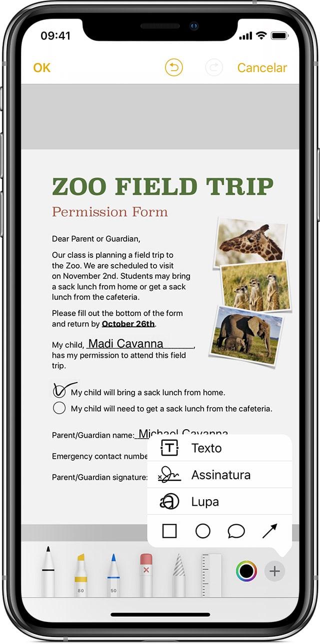 Como escanear documentos com o iPhone