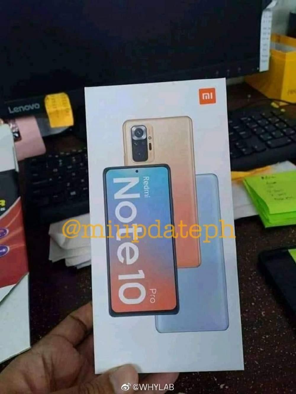 Redmi Note 10 Pro deverá ser lançado oficialmente no dia 4 de março