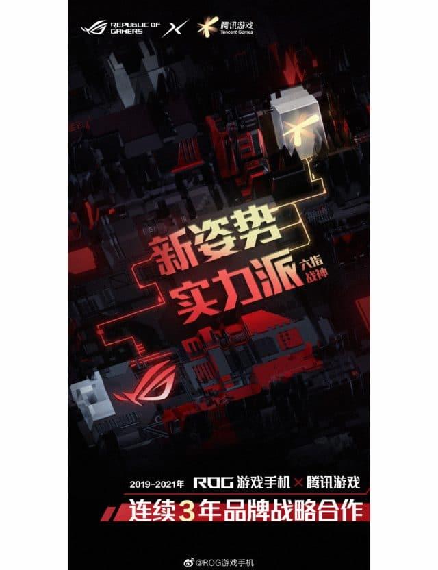 Teaser oficial do novo ROG Phone 5