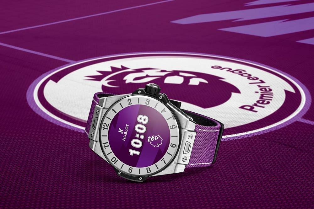 smartwatch big bang e da hublot edição especial premier league