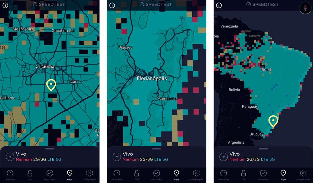 sequencia de telas que mostram mapa do Brasil