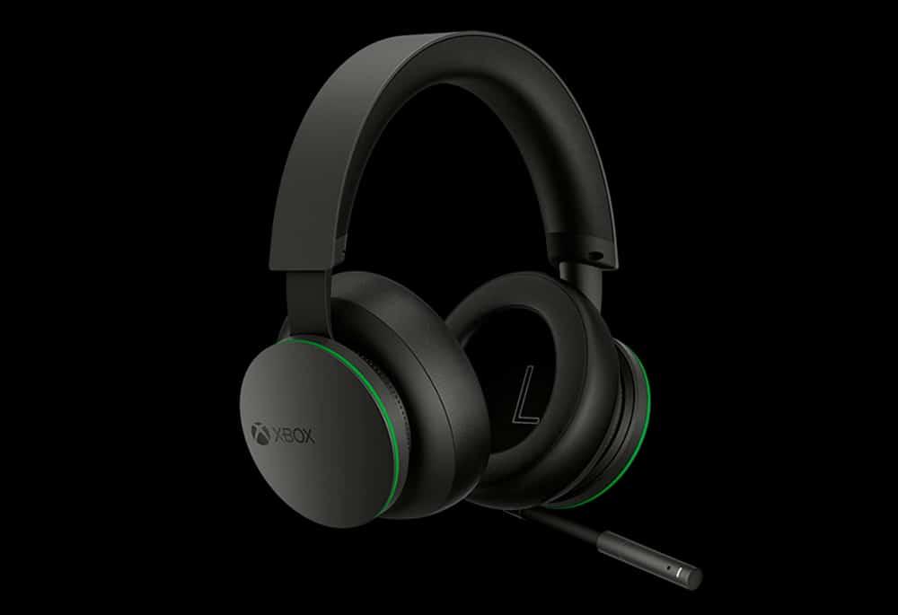 O novo Xbox Wireless Headset da Microsoft anunciado para consoles e smartphones, com design moderno nas cores preto e verde