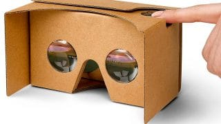 Cardboard, óculos de realidade virtual de papelão do Google, deixa de ser vendido