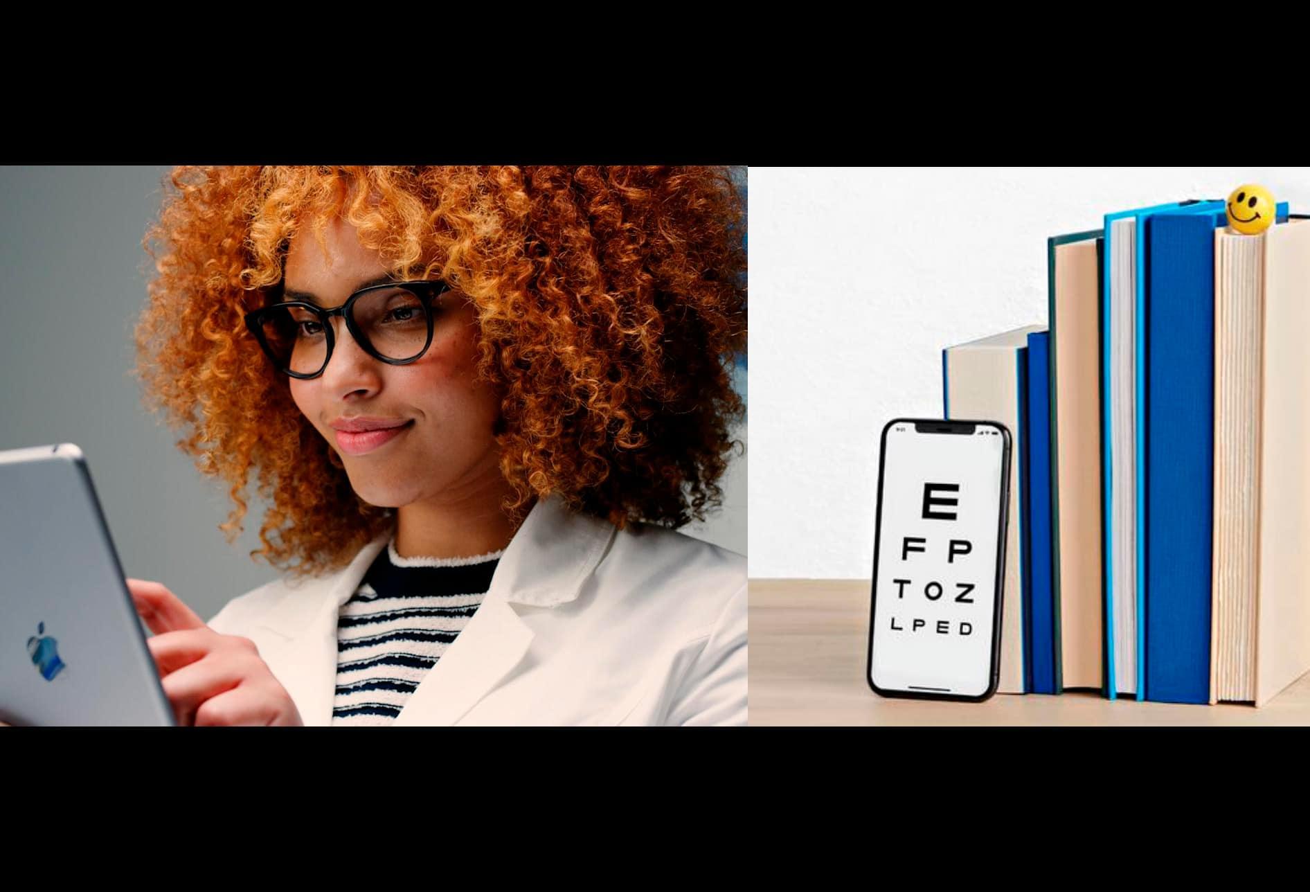 La aplicación de Warby Parker toma el ojo y renueva la prescripción de anteojos y lentes de contacto en una actualización